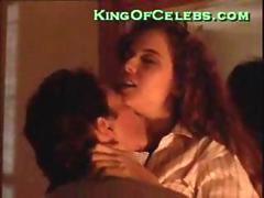 Kelly Preston topless sex scene