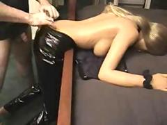 Fucking a blow up doll