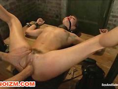 BDSM Maledom Dungeon Slave Fisted and Humiliated