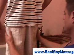 Teen straight amateur gets seduced
