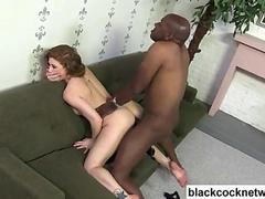 Whore riding a huge Mandingo cock for the record