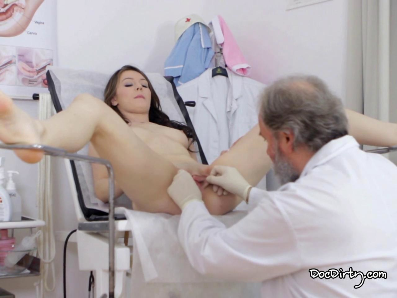 Fakehospital horny doctor gives sexy slim blonde orgasms 9