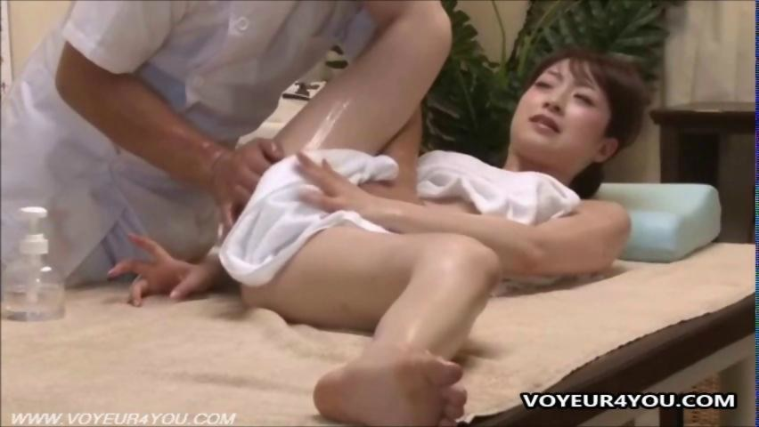 Real asian massage porn
