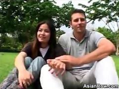 Naughty Thai Girl With Her White Lover