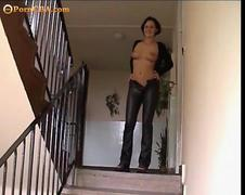 Private amateur sex with young wife