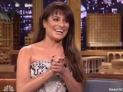 Lea Michele - Jimmy Fallon