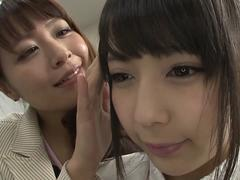 by connection-time stop lesbian ver luca kanae maika feature