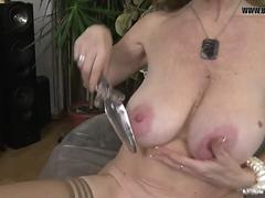 Posh grandma with big saggy tits!! - BESTXCAM.COM
