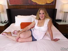 Busty Pierced Mature Milf Fucks Younger Guy
