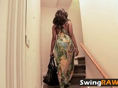 Swingers swap partners in amateur reality show