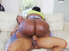 Big Ass Ebony Victoria Cakes Fucks A Big Black Cock