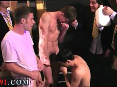 Gay step brothers suck each off and college boy physicals cum shot Pledges in saran wrap