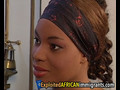 African maid is a sex slave with hairy pussy who gets banged quite often