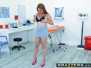 brazzers - doctor adventures - emergency titty fuck scene featuring lennox luxury and johnny castle
