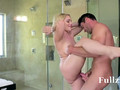 Hot Busty Blonde Gets Fucked In The Bathroom - Fullzz