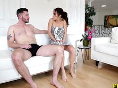 Anal surprise for a tight pussy and tight ass
