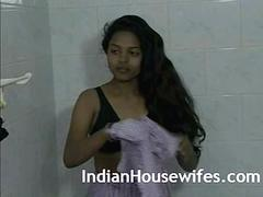 Hot Indian Bhabhi Taking Shower With Husband