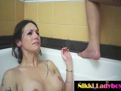 Nikki Montero and Bruna Butterfly Golden Showers