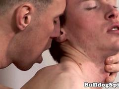 English wrestle twunk cocksucked before anal