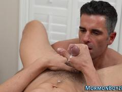 mormon elder ass fingered masturbation