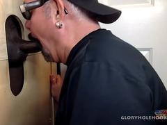 Big Dick Man Cums Twice At Gloryhole