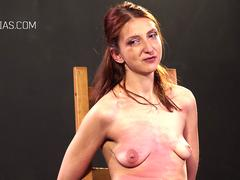 Redhead tits punished