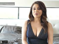 BANG Confessions - Jess Joli Amateur FIRST TIME EVER on camera