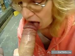 Blowjob Buddy gets Cum in her Mouth