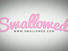 SWALLOWED Cock worshipping queens Monica and Hime