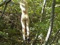 Ivana 19 tied in a tree and punished
