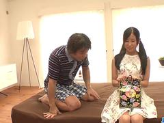 Suzu Ichinose fantasy sex with an older man - More at 69avs.com