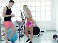 Victoria Pure, fucked in the gym