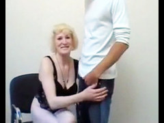 Granny Hardcore Office Sex