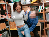 Shoplyfter - Petite Ebony Teen Fucked For Stealing