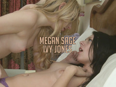 College girls Megan Sage and Ivy Jones