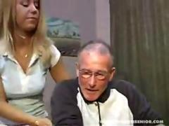 Nurse Tina Fucks A Old Man In Nurseing Home (Part 1)