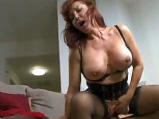 Sexy Vanessa Bella and a young dude share intimacy
