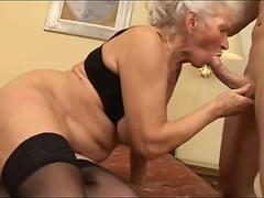 Granny gets fucked like never before