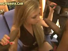 Extreme Interracial Breeding Gangbang