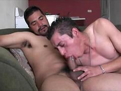 Hot straight latino guys suck each other big uncut verga and fuck raw video