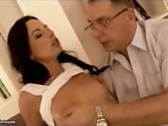 Old man fucks young girl pt 1