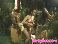 Black men fuck my wife in jungle