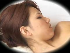 Shy ASIAN Sexy Girl gets Breast Massage and Touches Herself