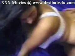Indian Aunty Hard by film director in studio