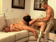 Awesome Threeway With Jessica Jaymes and Kelly Madison