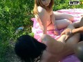 Hot student babes in forest orgy feature