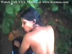 Indian Beauty Girl Fucking Outside In Jungle Privately
