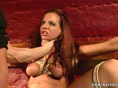 Hot slavegirl getting fucked hard film