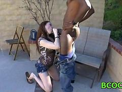 Hot interracial screwing hot