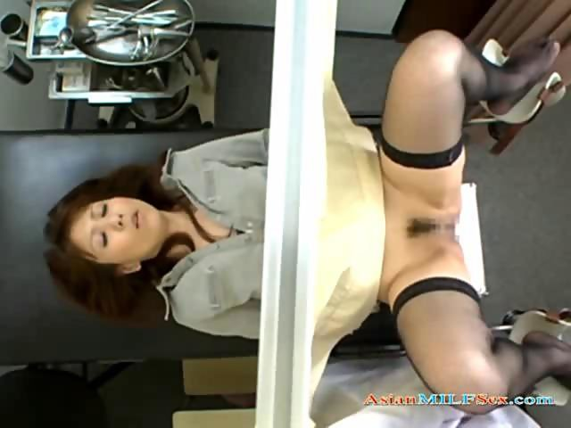 Japanese nurse tied up